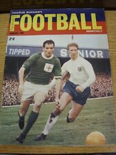 Jan-1967 Charles Buchan Monthly: No.185 - Northern Ireland v England [Front Cove