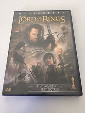LORD OF THE RINGS: RETURN OF THE KING ~FULL SCREEN~ 2-DVD SET~ EXCELLENT Hobbit