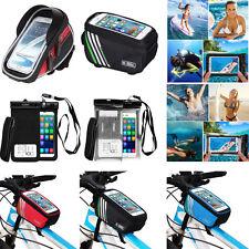 Bicicleta Protección Impermeable Submarina Bolsa Seco Bolsa Funda Cubierta Para Teléfono Celular