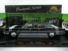 Road Signature 1:24 1972 Lincoln Continental Reagan Car USA OVP #3778