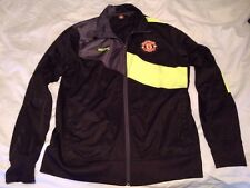 Manchester United Official Merchandise Zip Soccer Track Jacket MUFC Adult Size L