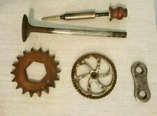 Steampunk Industrial Lot of 5 Gears Instruments, Project Parts