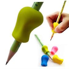 3PCS Pencil Pen Handwriting Aid Grip Right Left Handed Soft Set Silica Gel Tool