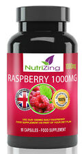 Best Raspberry Ketones ~ Made in the UK ~ 1000mg formula ~ 90 capsules