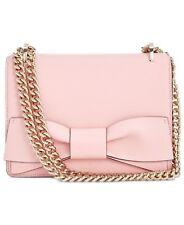 NEW Kate Spade Olive Drive Marci Rose Jade Pink Bow Leather Shoulder Bag $378