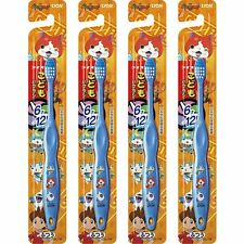 Yokai Watch Kid's  set of 4 Toothbrushes Blue LION Ships from Japan