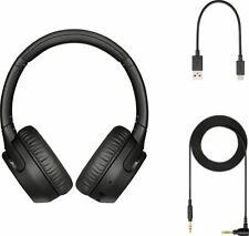 Sony WH-XB700 Bluetooth Wireless On-Ear Headphones - Black
