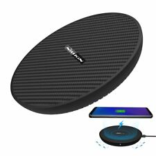 15W Fiber Qi Fast Wireless Charger Pad For iPhone XS Max/XR Samsung S9/Note 8 9