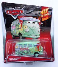 Disney Pixar Cars Pit Crew Fillmore Raro más de 100 automóviles que se enumeran Reino Unido!!!