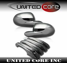 Chrome Mirror Cover Chrome Door Handle Cover Dodge Caliber 07 08 09 10 11 12