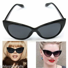 OCCHIALI DA SOLE DONNA OCCHI DI GATTO NERO SUNGLASSES PIF WEAR CAT EYES 1