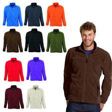 Sol ´S North Men's Fleece Jacket Outdoor Running Jogging Nicki