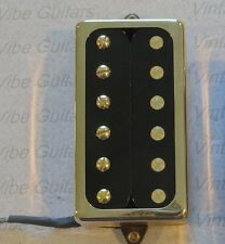 New open top humbucking pickup for electric guitar w/ gold cover- Pete Biltoft