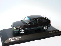 Opel Kadett de 1989 (noire) au 1/43 de Minichamps