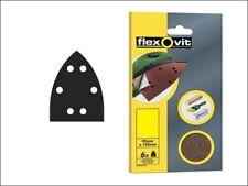 Flexovit By Norton Detailed Sander 95mm x 145mm x6 Sheets 50/80/120 Grit