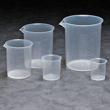 Zoro Select Bpset5 Beaker Set Plastic5 Beakers