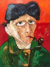 "Original painting ""My Vincent"" oil on canvas 30x40 in by Anastasiya Kimachenko"