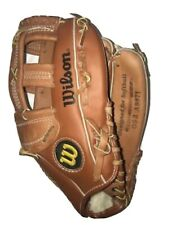 New listing Wilson Genuine Leather Softball Glove OS3 A9871  Optima Silver Series Right Hand