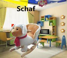 Speed Kinder Schaukelpferd Sound Plüsch Schaukel Schaukeltier Schaf