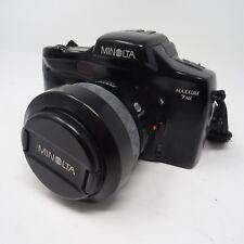 Minolta Dynax 7xi 35mm film camera + Minolta 28-80mm power Zoom AF lens