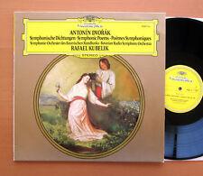 DG 2530 713 Dvorak Symphonic Poems Rafael Kubelik Bavarian Radio Symphony NM/EX