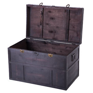 New Vintiquewise Old Cedar Style Large Chest, QI003041L