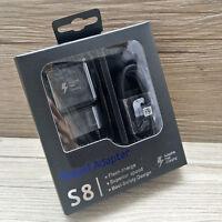 Rapido Original Caricabatteria Auto/Ret/ Cavo USB C Per Samsung Note8 S8 S9 Plus