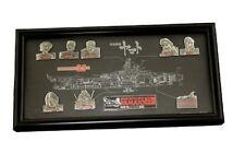 Star Blazers (Space Battleship Yamato) 25th Anniversary Collection Pins Rare
