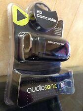 Brand New Audiosonic ASOVA003K HD 1280x720 Camcorder  - Black Video Camera