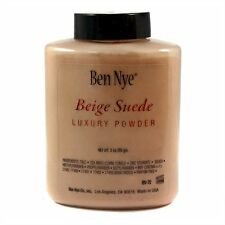 Ben Nye Beige Suede Bella Luxury Powder Authentic Translucent Face Makeup 3 oz