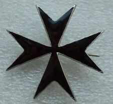 Black Maltese Cross General Bermont - Avalov WWI Russian White Guard Army