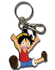 **License** One Piece PVC Keychain  SD Monkey D. Luffy #4843
