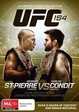 UFC #154 - St-Pierre Vs Condit (DVD, 2013, 2-Disc Set)   ** NEW  **