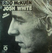 LP ROD McKUEN / JOSH WHITE - folk concert, Springboard