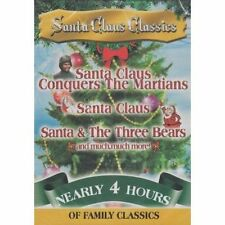 SANTA CLAUS CLASSICS - BRAND NEW (DVD 2012) NEARLY 4 HOURS / FAST SHIPPER