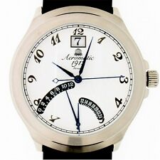 FLY-BACK RETROGRADE GMT (2nd Time Zone)DATE Unisex A1245