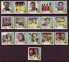 Australia 2000 Jeux Olympiques Gagnants Set Of 16 non Montés Excellent État,