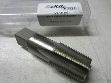 "New listing Doall 3/4""-14 Hss Nptf 5 Fl Straight Flutes Taper Pipe Tap bright finish 31303"