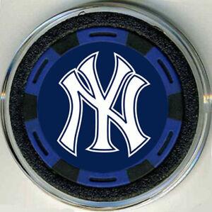 NEW YORK YANKEES BASEBALL POKER CHIP CARD PROTECTOR CVR