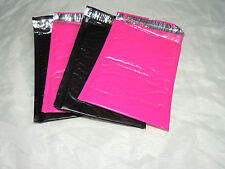 10 Hot Pink and Black 10.5 X 15.25 Poly Bubble Mailers, Padded Self Adhesive #5