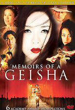 Memoirs of a Geisha (Full Screen 2-Disc Special Edition) DVD, ,