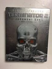 Terminator 2 Judgment Day (Blu-ray, 2009) German Import Steelbook