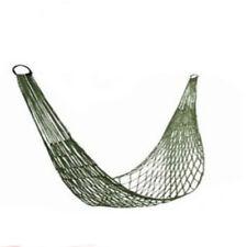 Outdoor Hammock Travel Camping Net Mesh Nylon Rope Bed Portable Hang Garden