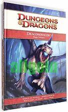 Dungeons & Dragons DRACONOMICON DRAGHI CROMATICI 2009 WOTC #60030 D&D 4.0 d20