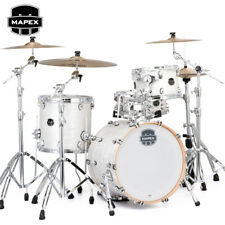 "NEW Mapex SATURN V Tour Edition 20"" 3-Piece Drum Set Shell Pack White Marine"