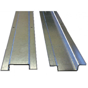 16mm Cable Protectors Sheathing 2 Metre Length - Galvanised x 2 Quantity