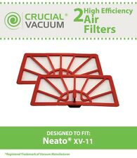 2 Replacements Neato XV-11 Air Vacuum Filters Part # 945-0004 & 945-0023