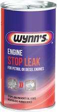 Wynn's engine oil STOP LEAK stop engine oil leaks for Petrol LPG & diesel engine