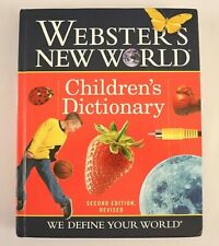 Websters New World Childrens Dictionary 2006 Hardcover Home School Learning