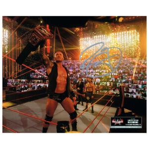 Randy Orton SIGNED WWE WrestleMania 37 Exclusive 8x10 Photo